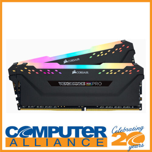 16GB DDR4 Corsair (2x8GB) CMW16GX4M2C3200C16 3200MHz Vengeance RGB Pro Ram Kit B