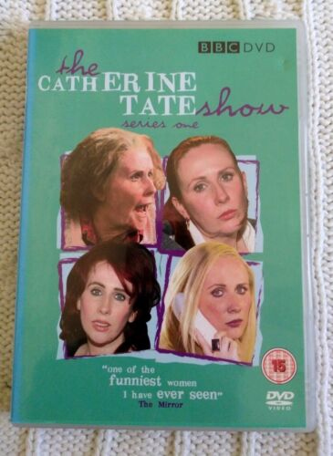 THE CATHERINE TATE SHOW- SERIES 1 – DVD - R-2+4, LIKE NEW, FREE POST AUS-WIDE