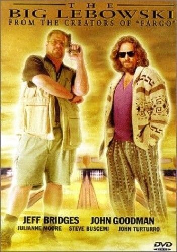The Big Lebowski - DVD - Free Shipping. Good Condition.