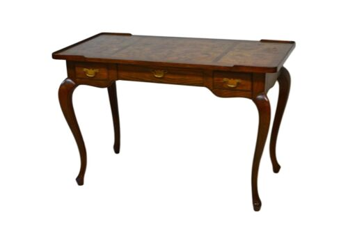 Baker French Style Oak & Walnut Writing Desk