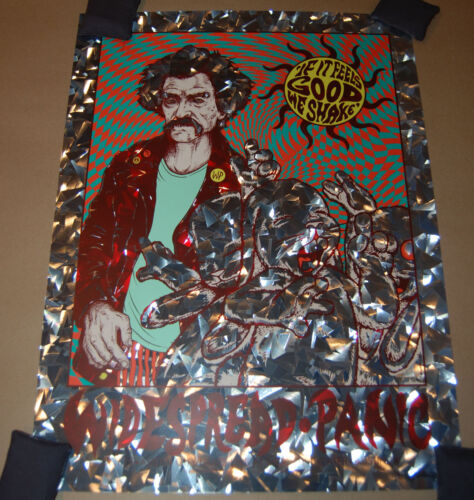 Widespread Panic Austin Poster Jermaine Rogers SHATTER FOIL Print mark twain acl