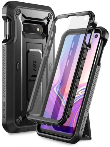 Samsung Galaxy S10e Case, SUPCASE Full Body Holster Cover with Screen Protector