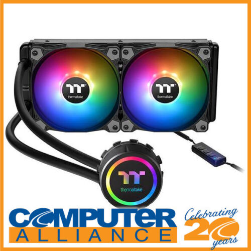 Thermaltake Water 3.0 240 ARGB Sync Liquid CPU Cooler PN CL-W233-PL12SW-A