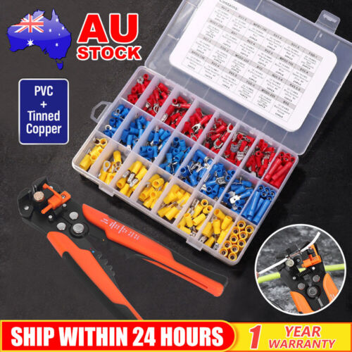Wire Stripper Terminal Tool Crimper Plier Crimping Pliers Wire Cutters Tool Kit