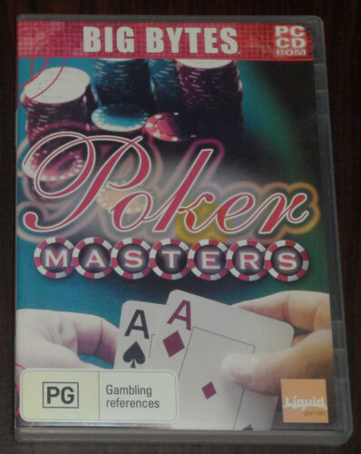 PC CD. Poker Masters (Oxygen Interactive, 2006)