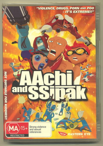 AAchi and SSipak (DVD, 2007) [New/Sealed]