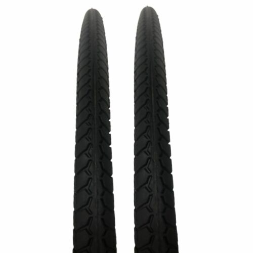 2x Positz Performance Bicycle Tyres - 700c x 35mm for Commuter City Hybrid Bikes