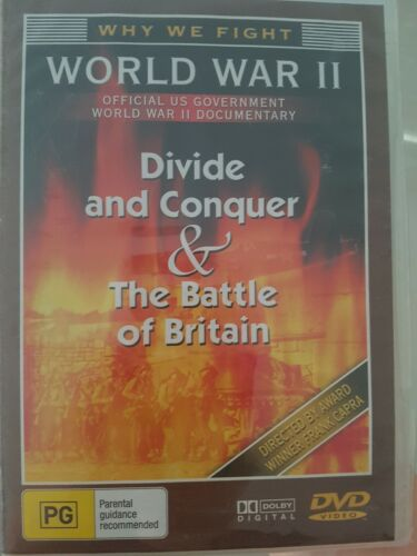 Divide And Conquer - Battle Of Britain (DVD) -  Brand New and Sealed