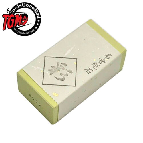 Snow White Whetstone #8000 with Stand Japan New NANIWA with Tracking IF-1001