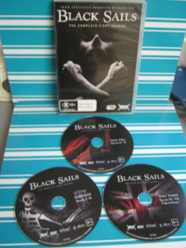 BLACK SAILS COMPLETE FIRST SEASON ( NEW )