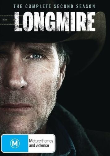 LONGMIRE - THE COMPLETE SECOND (2) SEASON REGION 4 DVD VERY GOOD CONDITION