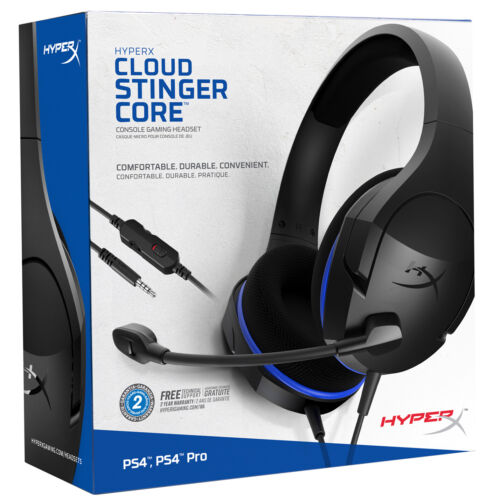 HyperX Cloud Stinger Core - Gaming Headset for PS4, Nintendo Switch, Xbox One
