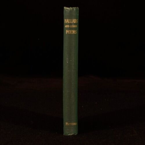 1884 Ballads and Other Poems Alfred Lord Tennyson Rizpah Columbus