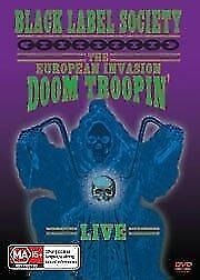 Black Label Society - The European Invasion - Doom Troopin (DVD, 2-Disk Set)