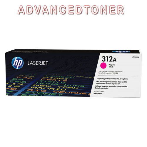 Genuine HP 312A (CF383A) Magenta Toner cartridge for L/jet Pro MFP M476 Printer