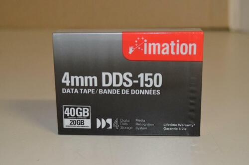 Imation 4mm DDS-150 Data Tape, 40GB Compressed 20GB Uncompressed, New Sealed