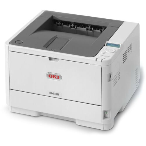 OKI A4 Mono Printer B432DN Network/Duplex 45762013