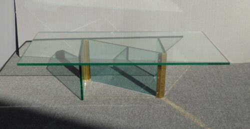Vintage Mid Century Modern Leon Rosen for Pace Z Shaped Coffee Table ~ Rectangle