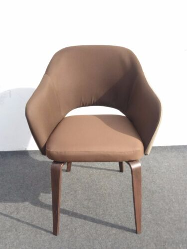 Unique Contemporary Danish Modern Style Brown Club Chair