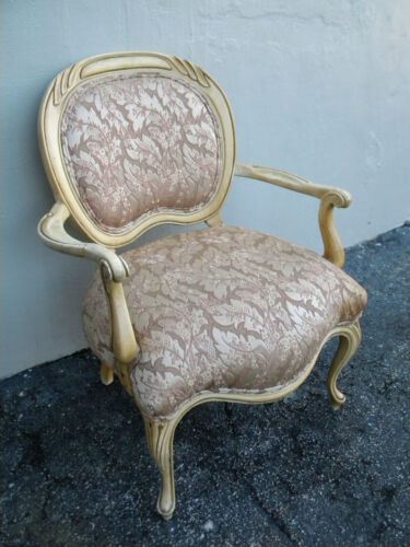 French Painted Living Room Side Chair 2170