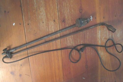 O C WHITE industrial ARTICULATED arm ADJUSTABLE lamp STEAMPUNK original LIGHT