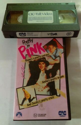 Bulk VHS Lot - 6 Classic Drama Titles: Chinatown, Pretty In Pink, Ghost...