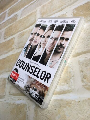 THE COUNSELOR - JAVIER BARDEM - REGION 4 PAL DVD
