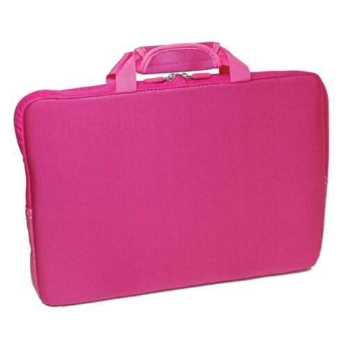 PC Treasures SlipIt 17-Inch Neoprene Notebook Computer Carrying Case - Pink New