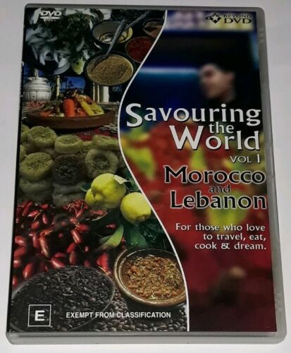 SAVOURING THE WORLD- VOL. 1- MOROCCO AND LEBANON –DVD, R-4