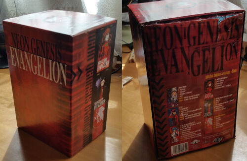 Evangelion Colección Anime (VHS)-PACK