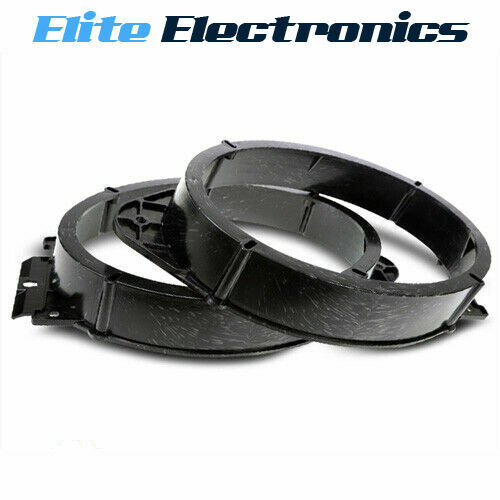 """Durable 2 Pieces 6/""""x9/"""" Stereo Speaker Spacer Ring Adaptor Hollow Slope Type"""