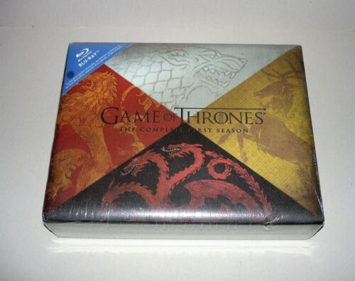 GAME OF THRONES THE COMPLETE FIRST SEASON  Blu-Ray COLLECTOR + Dragon Egg NEW <br/> Blu-Ray GAME OF THRONES THE COMPLETE FIRST SEASON SET