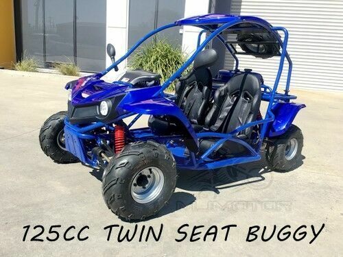 125CC SAHARA Offroad Dune Buggy Atv Quad Twin Seat Right-hand Drive 3FD With Rev <br/> Right-hand Drive,Twin Seats, Teens, Seat Belt