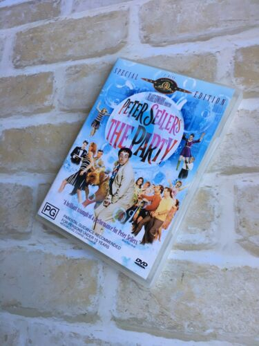 THE PARTY - PETER SELLERS - REGION 4 PAL - 2 DISC DVD SET