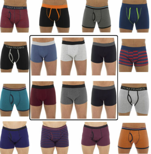 Multi Pack Mens Boys Novelty Cotton Boxer Boxers Hipster Trunks Shorts Underwear