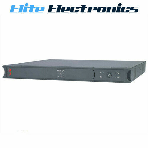APC SC450RMI1U SMART-UPS SC 450VA 280W 230V RACK MOUNT TOWER