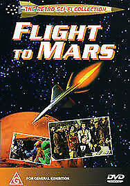 FLIGHT TO MARS – DVD- REGION- 4 - NEW AND SEALED- FREE POST WITHIN AUSTRALIA