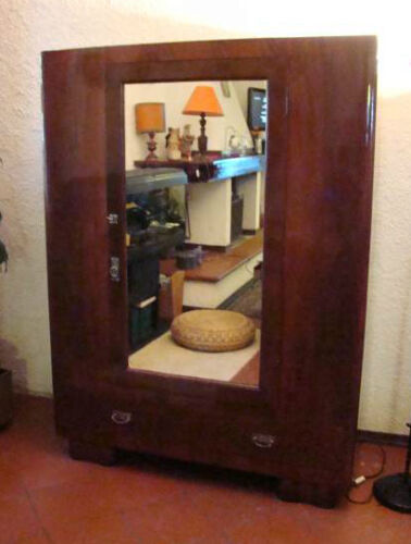 Armadio / Warderobe Made in Italy anni '30 restaurato fully restored Art deco'