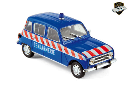 RENAULT R3 OU R4 1962 - Voiture Gendarmerie nationale France - 1/43 NOREV 510049