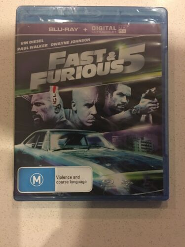 Fast and Furious 5, Blu-ray - Brand New & Sealed