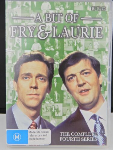 A Bit of Fry and Laurie Series 4 Region 4 PAL DVD Stephen Fry Hugh Laurie BBC