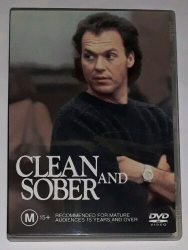 Clean And Sober - Michael Keaton (DVD, 2003) Region 4