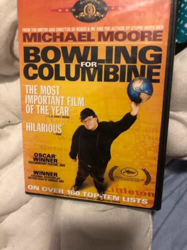 Bowling For Columbine (2003, DVD NEW)