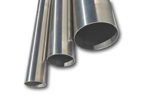 """1"""" Up To 5"""" Inch Od Exhaust Pipe Straight Tube 304 & 316 Stainless Steel 1 Metre <br/> 12 Sizes 304 & 316 Stainless Flaring Available"""