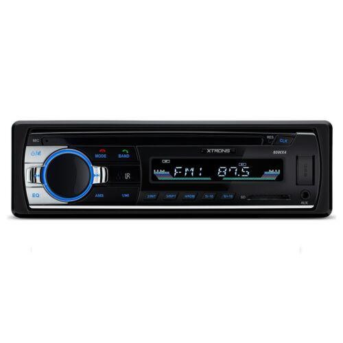 Universal Single DIN Mechless DAB Radio USB AUX Deckless 1 Din Bluetooth Stereo