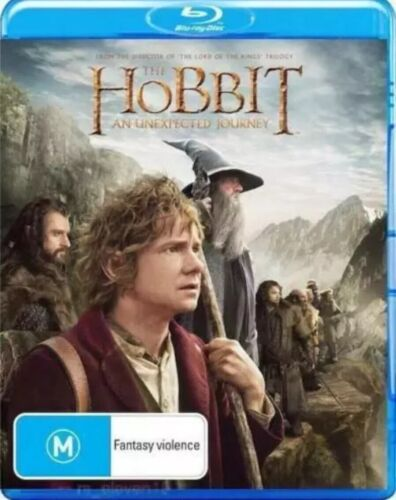 The Hobbit - An Unexpected Journey - Blu Ray (2 Discs) Like New - Free Postage