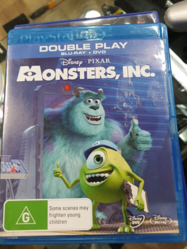 monsters inc bluray + DVD