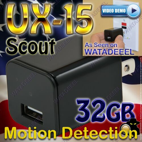 NEW! WATADEEEL UX-13 Scout USB Camera 1080p GENUINE Surveillance CIA FBI