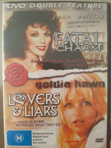 Fatal Charm ( Joan Collins), Lovers & Liars (Goldie Hawn) 2 Movies -New & Sealed