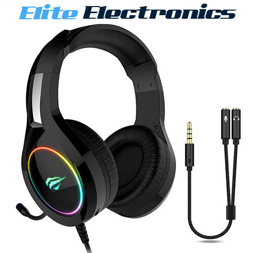 HAVIT HV-H2232D GAMING RGB UNIVERSAL HEADSET FOR PS4 PC XBOX PHONE TABLET